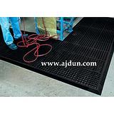 可拼接耐油型抗疲劳疏水地垫、橡胶排水垫