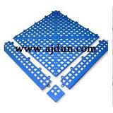 PVC可拼接疏水型地垫 排水型走道垫30cm*30cm