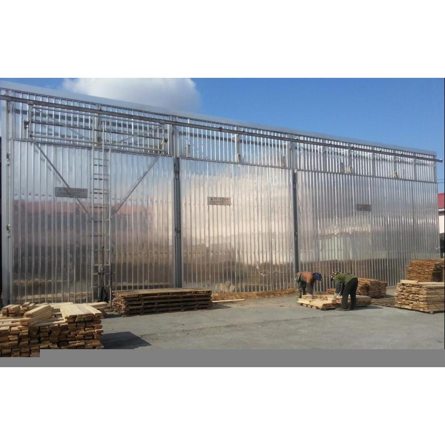可根据用户要求设计、生产砖砌体、彩钢板式、金属壳体式、全铝合金组装式木材干燥设备;装材量为20-200立方米;控制方式分为手动、半自动、全自动控制;加热介质分为蒸汽、热水、过热油等。保证产品质量精良、技术先进、价格合理、供货及时、服务良好。终身跟综服务 适用客户: 1、各类竹木地板生产企业; 2、各类指接板、拼板生产加工企业; 3、各类对外进行木材干燥加工的企业; 4、各类木材加工基地、林场及中、大型木材生产加工企业; 5、各类中、大型木制品、家具生产企业。 6、出口木制品、木质包装熏蒸(杀虫)热处理使