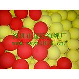 供应颜色擦洗海绵球/异形吸水海绵球