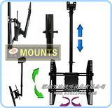 供应工程用吊装显示器支架/电视机吊架厂