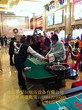 北京高端地产活动主题答谢会赌桌出租,豪华轮盘筹码桌租赁