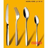 R208系列不锈钢刀叉 西餐餐具 家用牛扒刀叉勺  西餐具