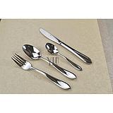 西餐刀叉勺- 供应【银貂餐具】R116系列出口德国高档不锈钢刀叉