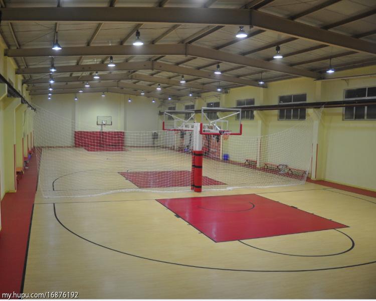 室内篮球场照明改造led灯