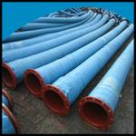 大口径法兰式吸水胶管 防洪排涝胶管 吸排水管线
