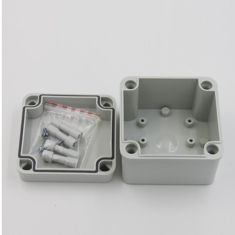 供应高端优质电气接线盒 电源防水盒 100*100*75按钮盒