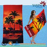 定制各种款式的超细纤维的沙滩巾