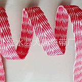 【时尚新品】夹色段染人字带花式人字纹织带