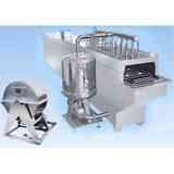 水针超声波洗瓶机洗瓶机,洗过的瓶子崭亮如新,鲁通超声专业生产制造