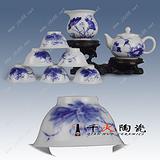 批发功夫茶具套装 景德镇陶瓷茶具厂家直销 青花瓷茶具套装批发