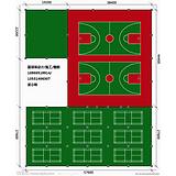 禅城体育用品 禅城丙烯酸篮球场 禅城硅Pu 球场施工