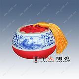 景德镇陶瓷罐子 陶瓷蜂蜜罐子 定做陶瓷罐子
