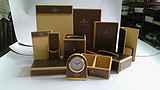 厂家生产定制酒店皮具套装遥控器座客房皮具套装遥控器套皮革收银夹
