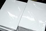 供应进口永丰余157g单双面光铜版纸