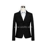2014威仕顿新款女士西装定做 品牌西服定做 西服白职业套装