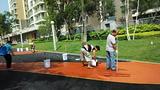 云南昆明彩色地坪-彩色混凝土-彩色路面