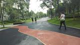 彩色防滑路面防滑路面材料防滑路面透水路面