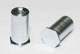 压铆螺柱规格尺寸,快削钢压铆螺柱,机板压铆螺柱,非标压铆螺柱定做