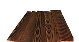 花旗松炭化木价格,花旗松表面炭化木工程