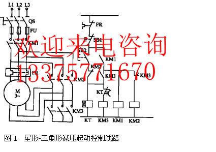 qx4-55kw壁挂式星三角起动箱,立式星三角启动柜