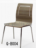 不锈钢餐椅,弯木椅,曲木椅,弯板椅,四脚椅,广东家具厂批发价格图