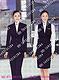 高铁乘务员工作服订做厂家上海亿妃服饰有限公司