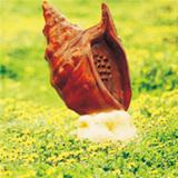 广州音之采音箱/园林防真石头音箱供应/好质量防水园林仿真海螺