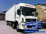 十堰鑫冠推荐东风天龙小三轴厢式运输车,6x2厢式运输车