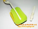 深圳厂家专业生产奶瓶清洁花边海绵刷 多种颜色供选择