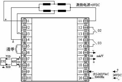 控制仪表接线图