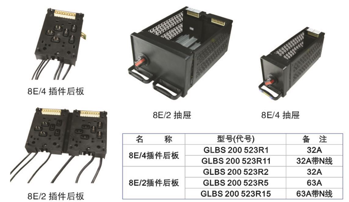 低压开关柜价格_8e/2插件后板8e/4抽屉柜插件后板批发