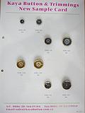 树脂电镀双拼钮扣 高档外套钮扣 厂价直销