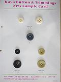 厂家直销高端精美哑光树脂棒花男装、西装、西服、时装钮扣