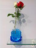 藏乐 创意家居花瓶 时尚塑料花瓶 可折叠花瓶 低碳环保花瓶