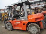 长期二手柴油叉车转让、二手合力叉车网||沧州二手叉车出售价格