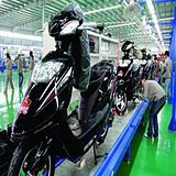 深圳电动车装配线改造