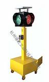 太阳能移动红绿灯,太阳能警示灯,交通信号灯首选骧虎科技