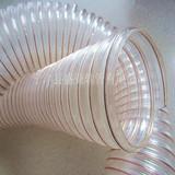 钢丝螺旋伸缩管  采用PU材质 透明耐用