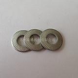 NFE25511法式垫圈法式碟片M10*22单面齿垫圈 达克罗