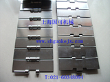 812-K450不锈钢链板,114.3mm宽不锈钢链板原厂报价