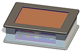 8寸工业显示屏CX-084-GT工业嵌入式显示器