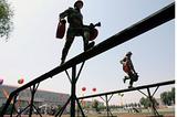 淮安消防训练用400米障碍器材生产厂家专业独木桥定做