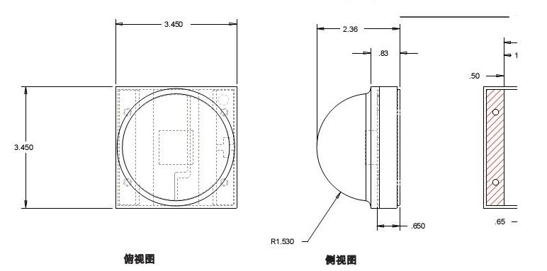 科锐芯片结构图