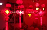 古镇LED中国结灯厂家,路灯杆中国结,发光中国结-005