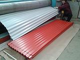 供应瓦楞板,波浪瓦,彩钢板,