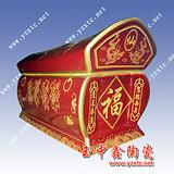 陶瓷骨灰盅  殡葬 用品批发