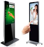 42寸触控广告一体机-立式触摸一体机-落地触摸一体机-电脑一体机