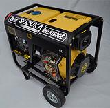 5KW柴油发电机/单相柴油发电机/铃鹿动力