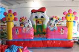 小淘气之小小鸭充气城堡儿童游乐